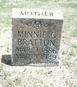 Minnie Myrtle <I>Griffin</I> Bratton