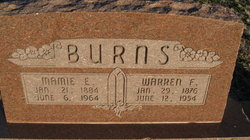 Warren Frank Burns