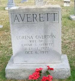 Lorena Y <I>Overton</I> Averett