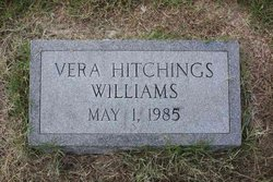 Vera Elizabeth <I>Hitchings</I> Williams