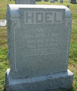 Mary E. <I>Metcalf</I> Hoel