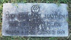 Ivo Herman Hayden