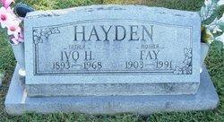 Leota Fay <I>Hale</I> Hayden