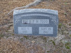 Rev Henry Paul Mayberry Todd