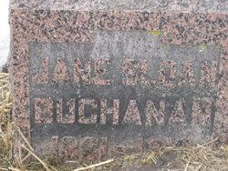 Jane <I>Sloan</I> Buchanan