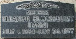 Eleanor Bloomquist <I>Backman</I> Hanni