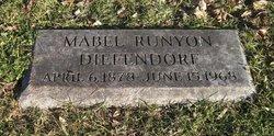 Mabel <I>Runyon</I> Diefendorf