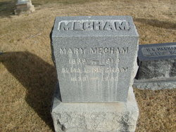 Mary <I>Morgan</I> Mecham
