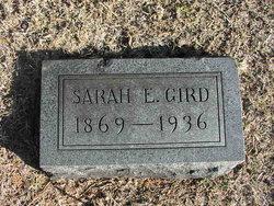 Sarah E. <I>Byars</I> Gird