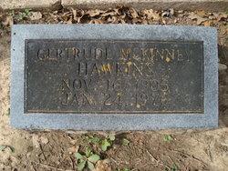 Gertrude Bernice <I>McKinney</I> Hawkins