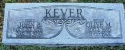 Olive May <I>Weaver</I> Kever