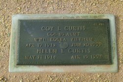 Helen Louise <I>Luther</I> Curtis