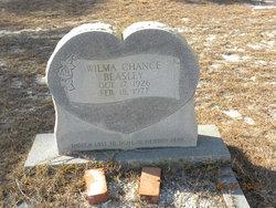 Wilma <I>Chance</I> Beasley