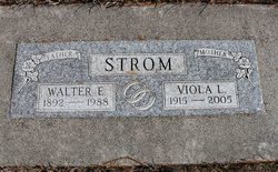 Viola Louise <I>Anderson</I> Strom