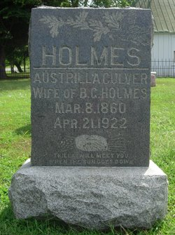 "Austrilla ""Trellie"" <I>Culver</I> Holmes"