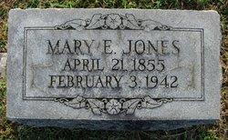 Mary E <I>Shultz</I> Jones