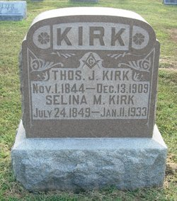 Selina M <I>Holmes</I> Kirk