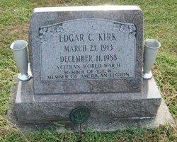 Edgar C Kirk