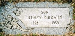 "Henry Raymond ""Bud"" Braun"