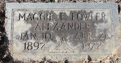 Maggie Elizabeth <I>Hearne</I> Alexander