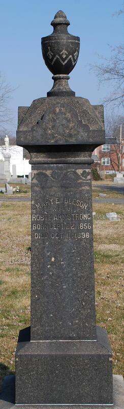 Mary E. <I>Beeson</I> Armstrong