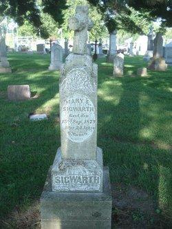 Marie (Mary) Elizabeth <I>Utzig</I> Sigwarth