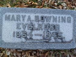 Mary Angelia <I>Downing</I> Evelhoch