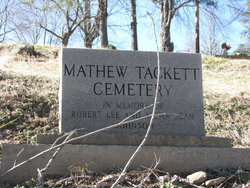 Matthew Tacket Cemetery