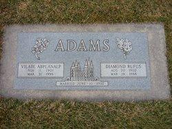 Ethel Vilate <I>Abplanalp</I> Adams