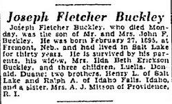 Joseph Fletcher Buckley