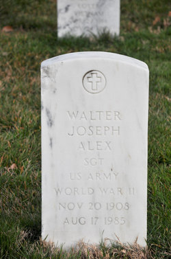 Walter Joseph Alex
