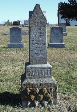 Annie Elizabeth Rowland