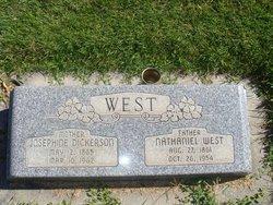Josephine <I>Dickerson</I> West