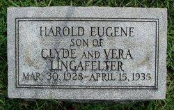 Harold Eugene Lingafelter