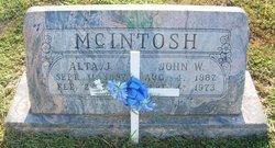 Alta Josephine <I>Culp</I> McIntosh
