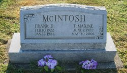 Frank D McIntosh