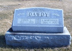 Emma L <I>Hampton</I> Dawdy