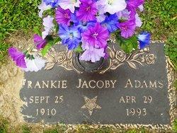 Frankie <I>Jacoby</I> Adams