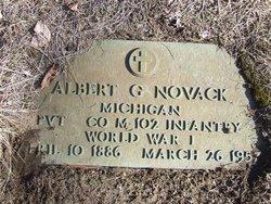 Albert G Novack