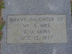 Infant Daughter Akins