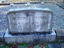 John T Blair