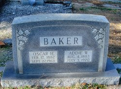 Addie W Baker