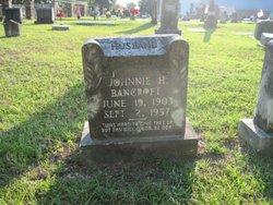 """John Hill """"Johnnie"""" Bancroft"""