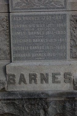 Asa Barnes (1769-1851) - Find A Grave Memorial