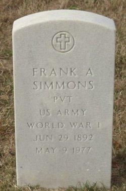 Frank A Simmons
