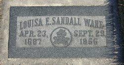 Louisa Emily <I>Sandall</I> Ware