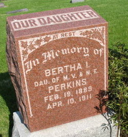 Bertha D. Perkins