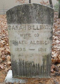 Sarah Marie <I>Billings</I> Aldrich