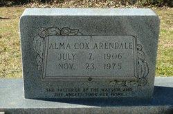 Alma <I>Cox</I> Arendale