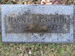 Hanna B <I>Shoemaker</I> Griffith